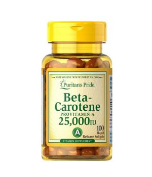 Витамины и минералы Puritan's Pride Beta-Carotene 25000 IU Puritan's Pride