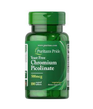 Витамины и минералы Puritan's Pride Chromium Picolinate 200 mcg Yeast Free Puritan's Pride