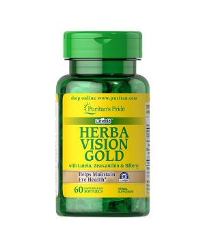 Витамины и минералы Puritan's Pride Herbavision Gold Premium Puritan's Pride