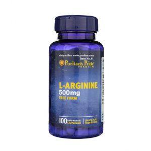 L-Arginine 500 mg Puritan's Pride