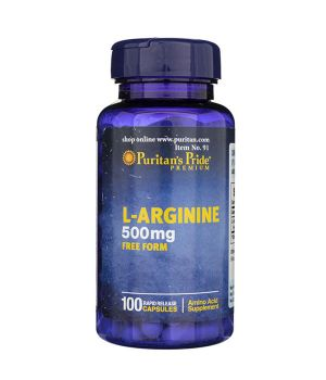 Аргинин Puritan's Pride L-Arginine 500 mg Puritan's Pride