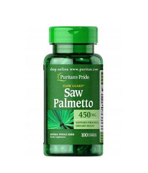 Витамины и минералы Puritan's Pride Saw Palmetto 450 mg Puritan's Pride