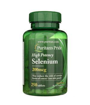 Витамины и минералы Puritan's Pride Selenium 200 mcg Puritan's Pride