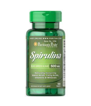 Витамины и минералы Puritan's Pride Spirulina 500 mg Puritan's Pride