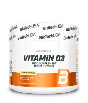 Витамины и минералы BioTech Vitamin D3 Biotech