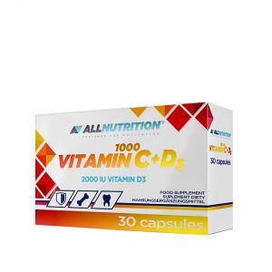 Vitamin C + D3 1000 Allnutrition