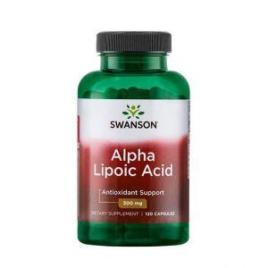 Alpha Lipoic Acid 300 мг Swanson