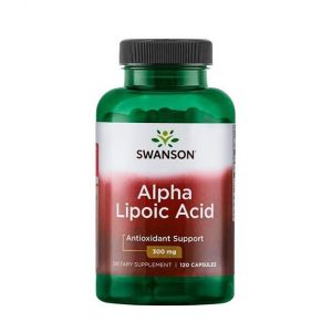 Alpha Lipoic Acid 300 мг Swanson