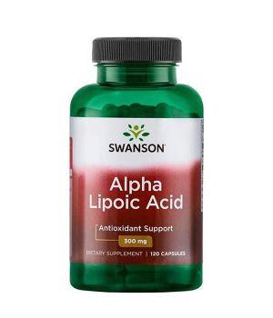 Витамины и минералы Swanson Alpha Lipoic Acid 300 мг Swanson