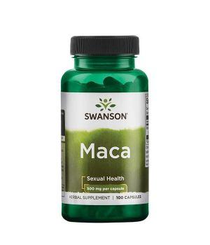 Витамины и минералы Swanson Maca 500 mg Swanson