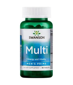 Витамины и минералы Swanson Multi Men's Prime Swanson