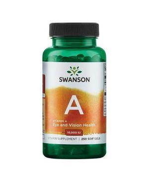 Витамины и минералы Swanson Vitamin A 10,000 IU Swanson