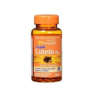 Lutein 6 mg with Zeaxanthin Puritan's Pride