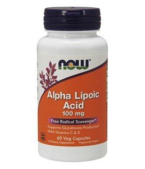 Витамины и минералы Now Foods NOW Alpha Lipoic Acid 100mg