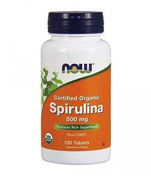 Витамины и минералы Now Foods NOW Spirulina 500 mg