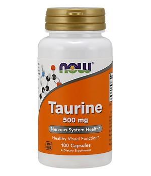 Главная Now Foods NOW Taurine 500mg
