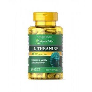 Puritan's Pride L-Theanine 200 mg