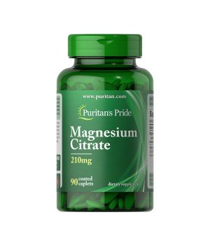 Витамины и минералы Puritan's Pride Puritan's Pride Magnesium Citrate 210 mg