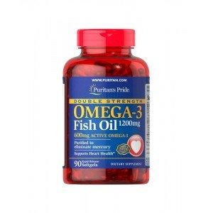 Puritan's Pride Omega-3 Fish Oil (Double Strength) 1200 mg