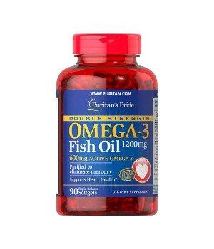 Витамины и минералы Puritan's Pride Puritan's Pride Omega-3 Fish Oil 1200 mg + Vitamin D3