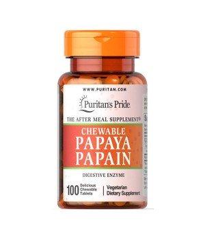 Витамины и минералы Puritan's Pride Puritan's Pride Papaya Papain