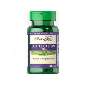 Puritan's Pride Soy Lecithin 520 mg