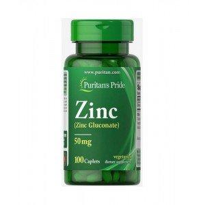 Puritan's Pride Zinc 50 mg