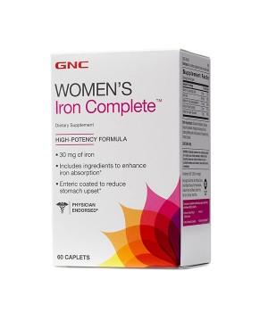 Витамины и минералы GNC GNC Womens Iron complete