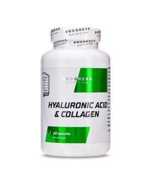 Суставы и связки Progress Nutrition Hyaluronic acid + Collagen Progress Nutrition