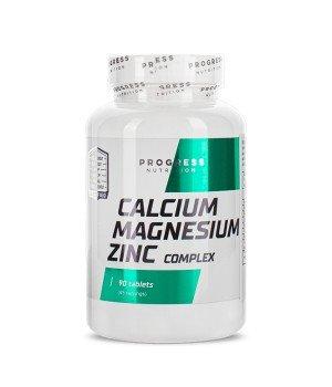 Витамины и минералы Progress Nutrition Calcium Magnesium Zinc Progress Nutrition