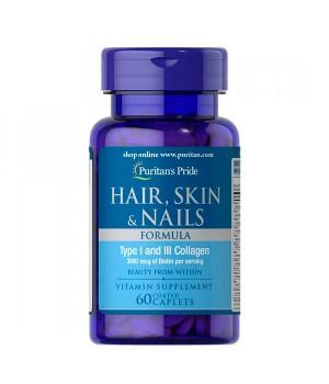 Витамины и минералы Puritan's Pride Hair,Skin & Nails