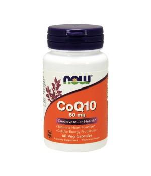 Витамины и минералы Now Foods NOW CoQ10 60mg