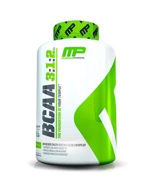 BCAA MusclePharm BCAA 3:1:2 capsules
