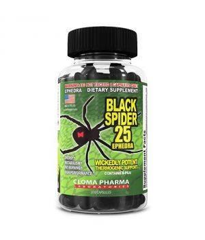 Комплексные жиросжигатели Cloma Pharma Black Spider