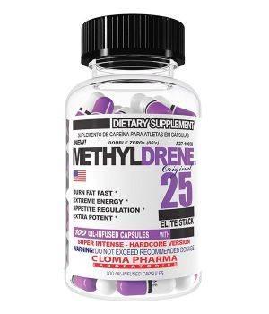Комплексные жиросжигатели Cloma Pharma Methyldrene Elite 25