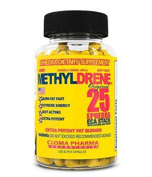 Комплексные жиросжигатели Cloma Pharma Methyldrene 25