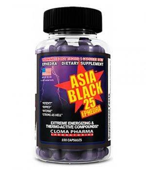 Комплексные жиросжигатели Cloma Pharma Asia Black 25