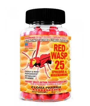 Комплексные жиросжигатели Cloma Pharma Red Wasp 25
