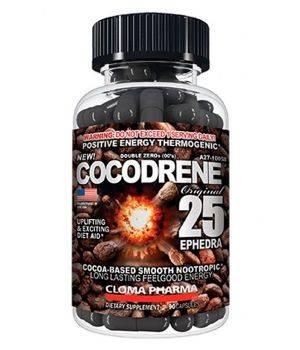 Комплексные жиросжигатели Cloma Pharma Cocodrene