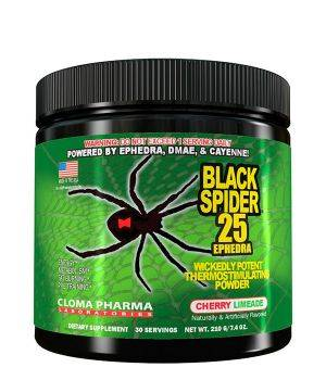 Предтреник Cloma Pharma Black Spider