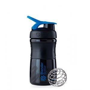 Blender Bottle черно-синий (600 мл)