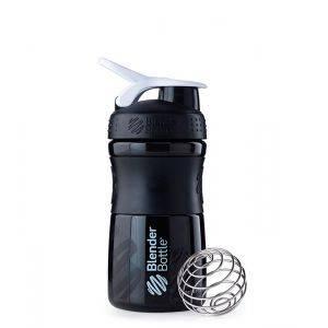 Blender Bottle черно-белый (600 мл)