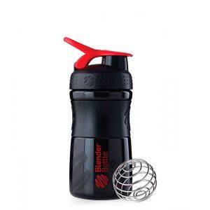 Blender Bottle черно-красный (600 мл)