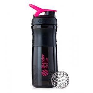 Blender Bottle черно-розовый (840 мл)