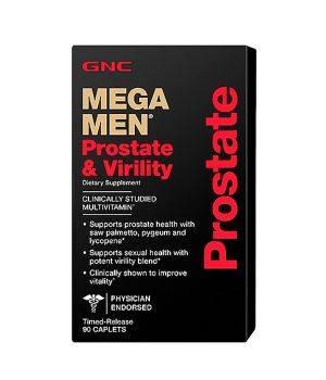 Витамины и минералы GNC Mega Men Prostate and Virility
