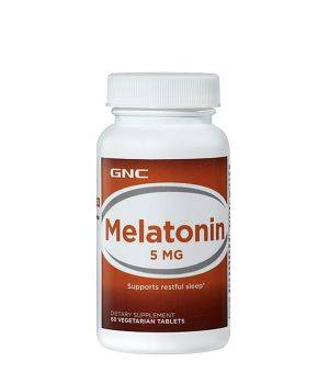 Мелатонин и Gaba (для сна) GNC GNC Melatonin 5 мг