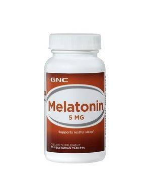 Мелатонин и Gaba (для сна) GNC GNC Melatonin 5 мг