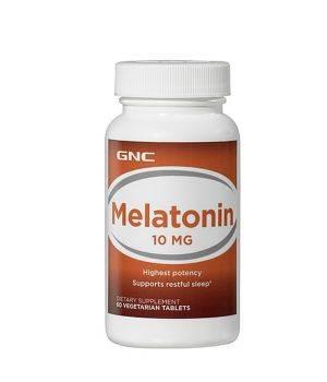Мелатонин и Gaba (для сна) GNC GNC Melatonin 10 мг
