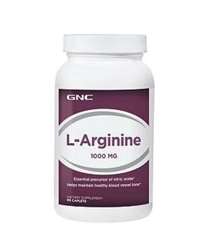 L Аргинин GNC L arginine 1000
