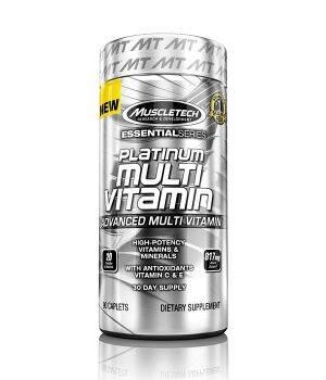 Витамины и минералы MuscleTech Platinum Multi Vitamin